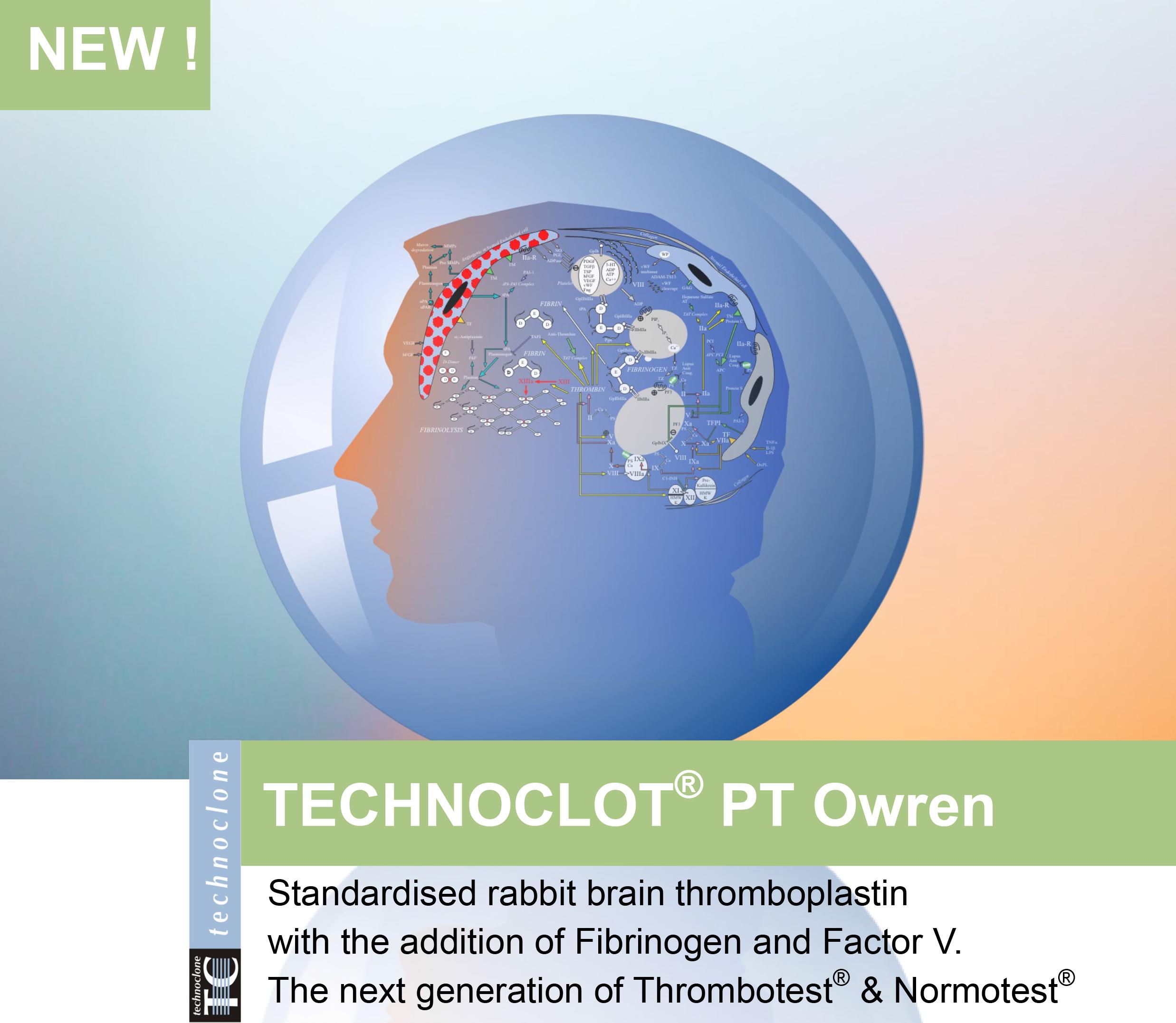New PT Owren reagent