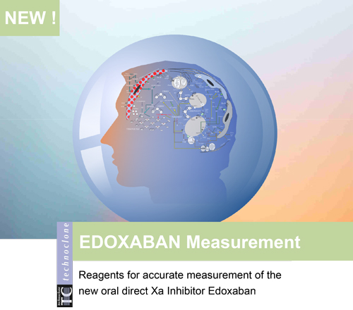 New Edoxaban Calibrators & Controls